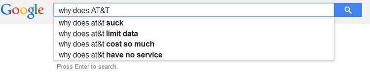 T search query results