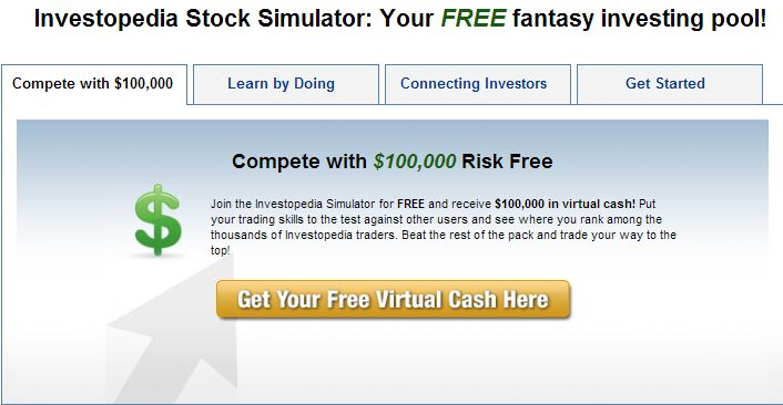 Investopedia stock game