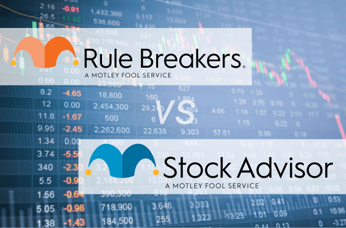 Motley Fool Rule Breakers vs Stock Advisor